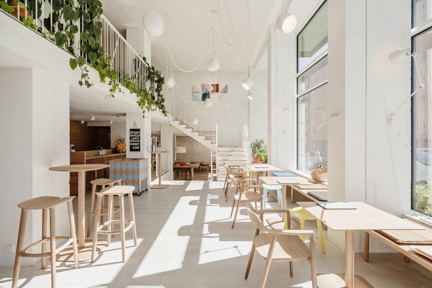 Thiết kế quán cafe 60m2 vừa đẹp vừa chất