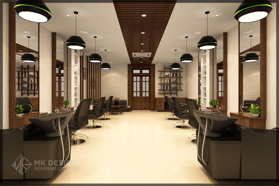Thiết Kế Hair Salon Đẹp Sang Trọng - Nội Thất Cao Cấp Số 1 Hà Nội
