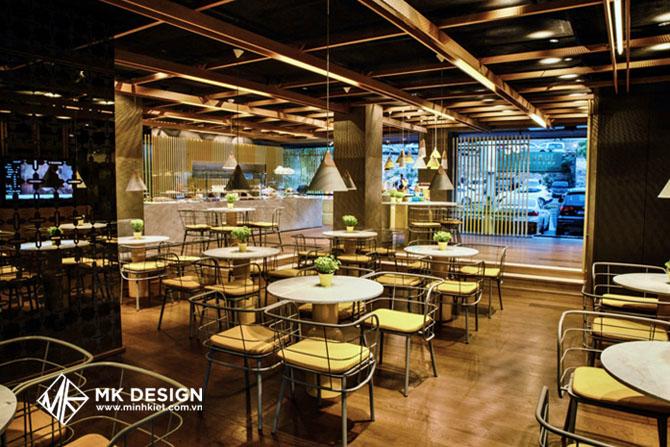 Ý tưởng thiết kế bên trong quán cafe