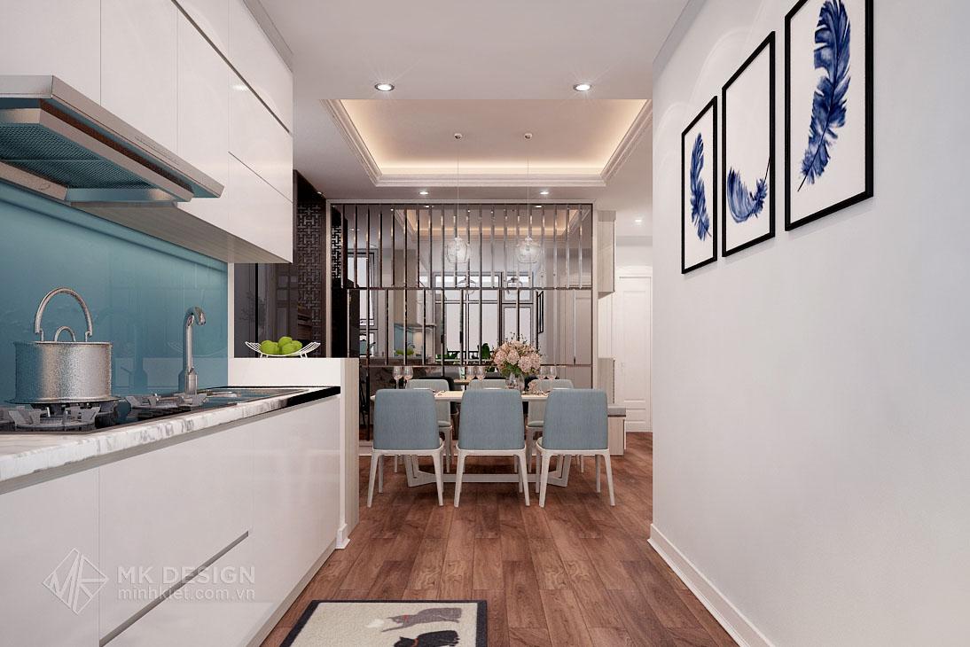thiết kế nội thất chung cư Hoàng Cầu-06