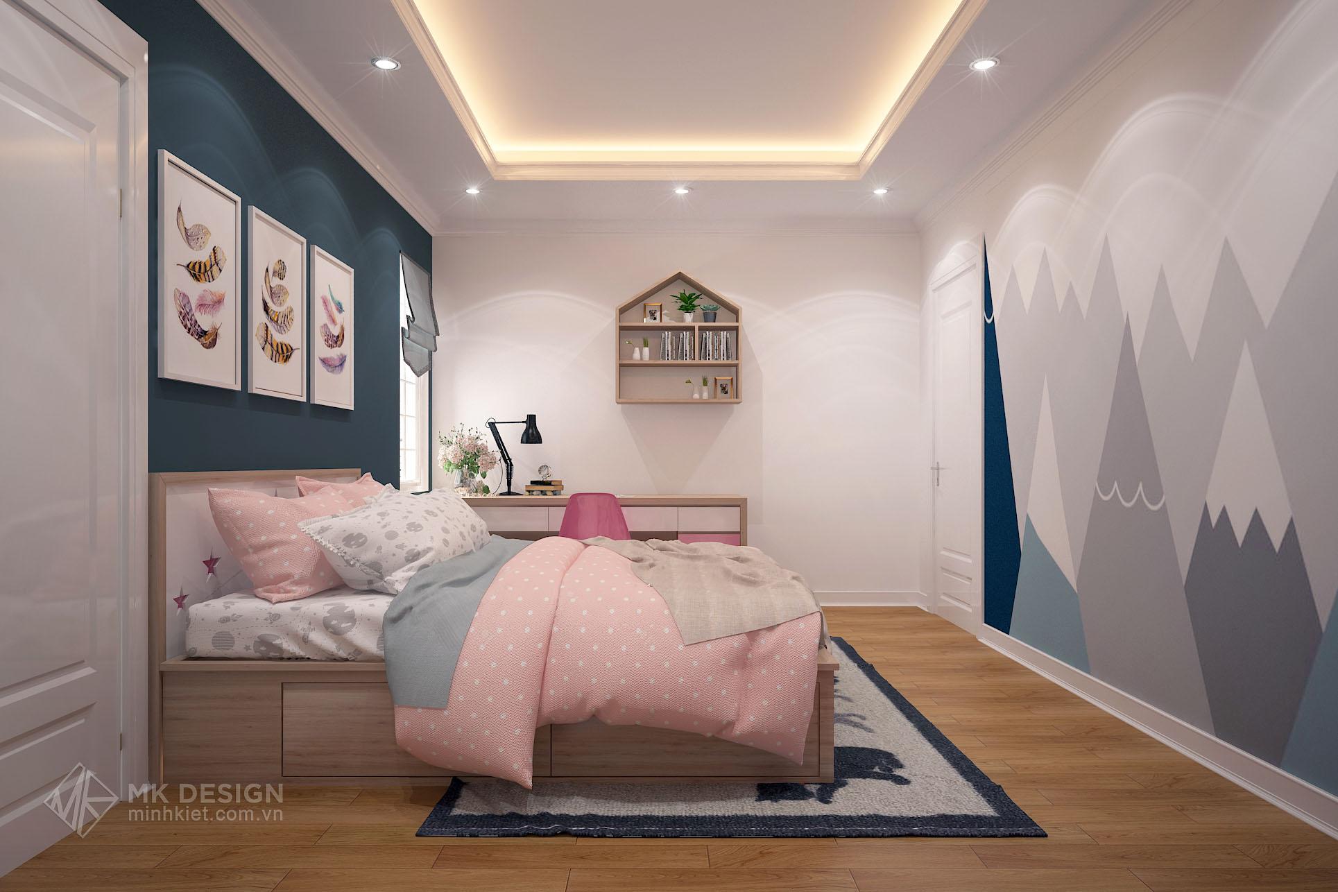 thiết kế nội thất chung cư Hoàng Cầu-08