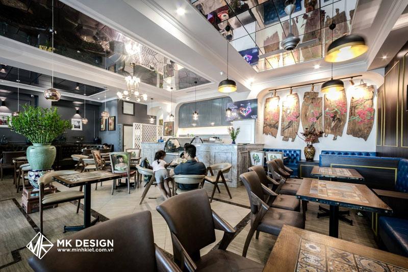 Trang trí không gian quán cafe đẹp 2