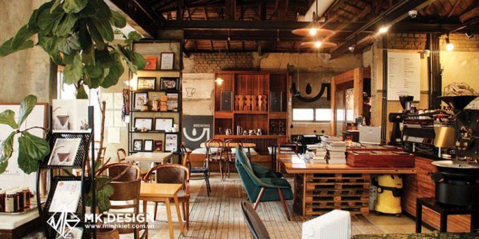 Thiết kế quán cafe đẹp theo phong cách Hàn Quốc