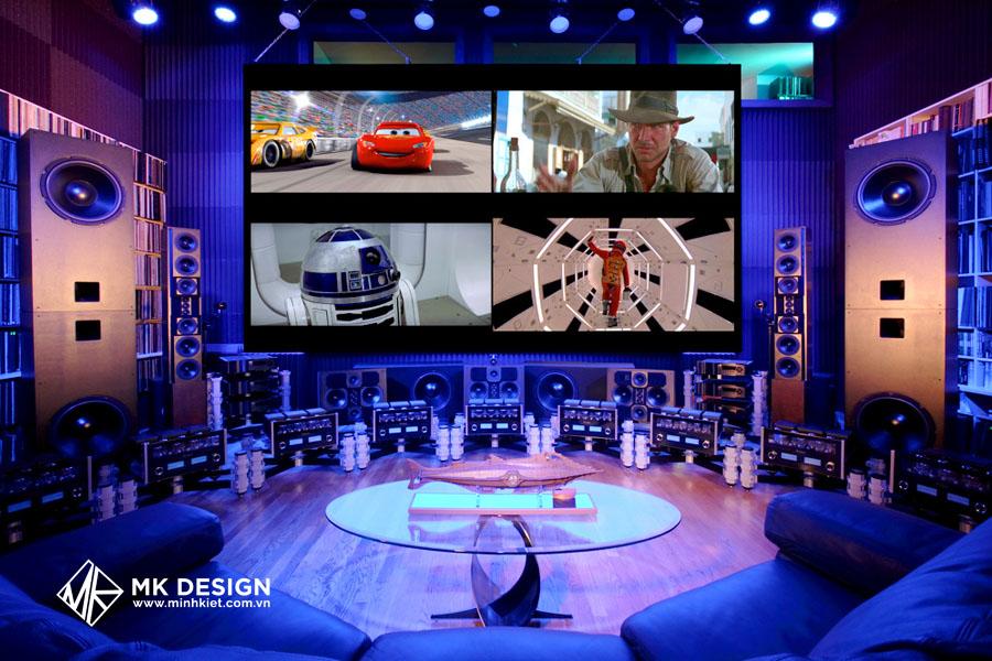 Thiết kế quán cafe xem phim 3D: Cần lưu ý những điểm sau