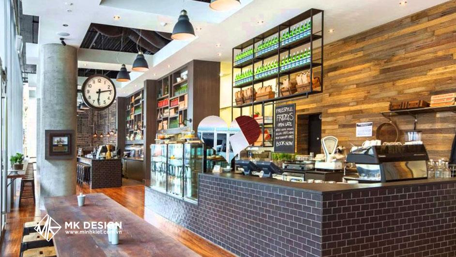 Thiết kế quán cafe phong cách đương đại 2