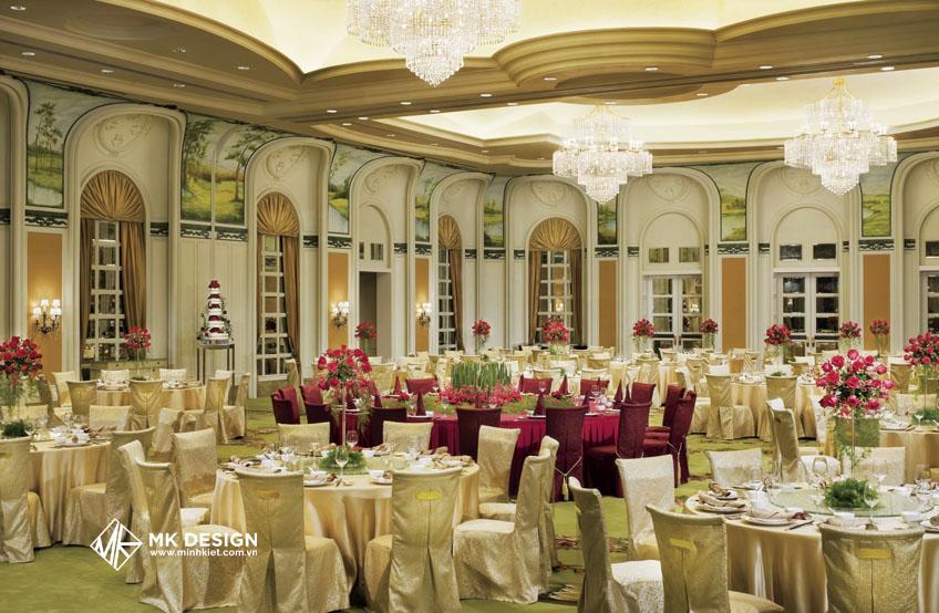 Thiết kế nhà hàng tiệc cưới 5