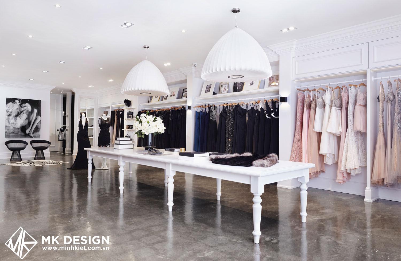 Trang trí shop thời trang đơn giản mà đẹp