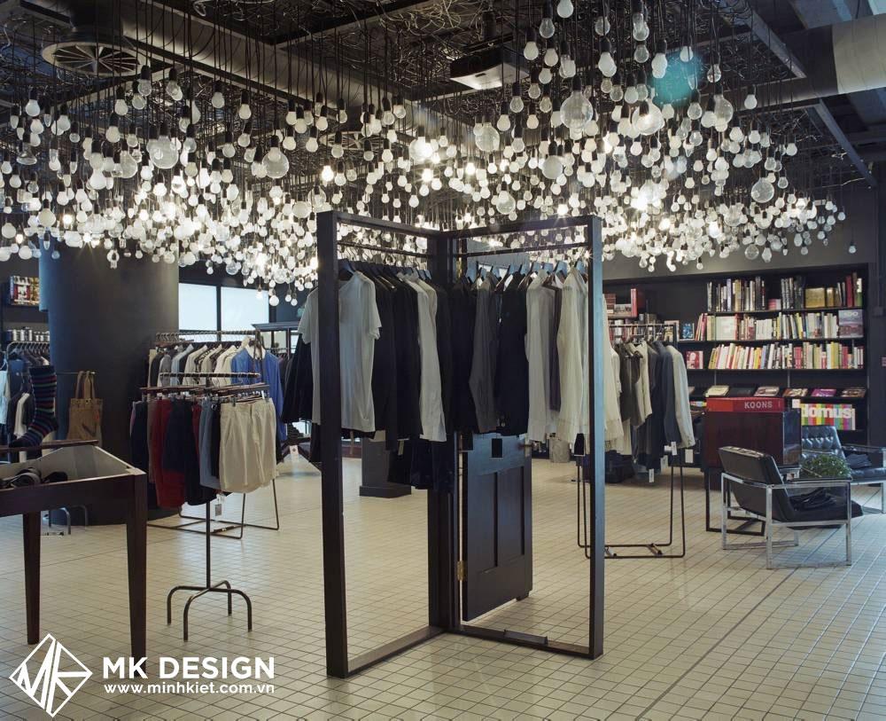 Cửa hàng đơn giản với phong cách thiết kế đương đại
