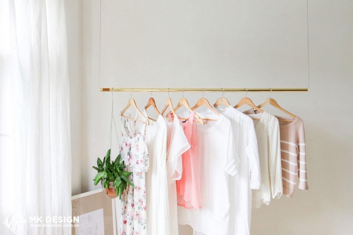 Mắc quần áo - phụ kiện trang trí shop treo quần áo