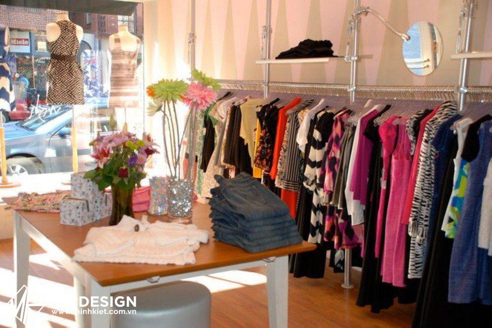Shop quần áo nhỏ đẹp
