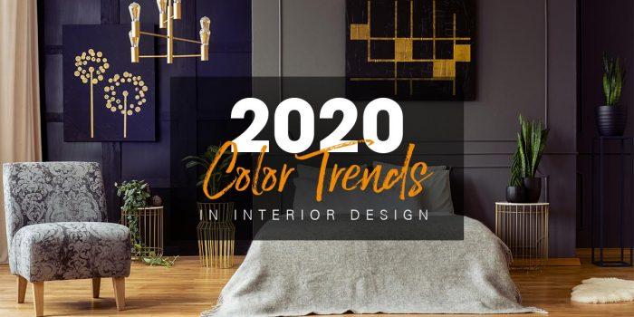 Màu sắc nào sẽ thống trị xu hướng thiết kế nội thất 2020?