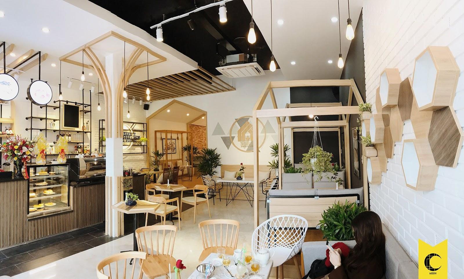 Thiết kế Tiệm bánh và cafe