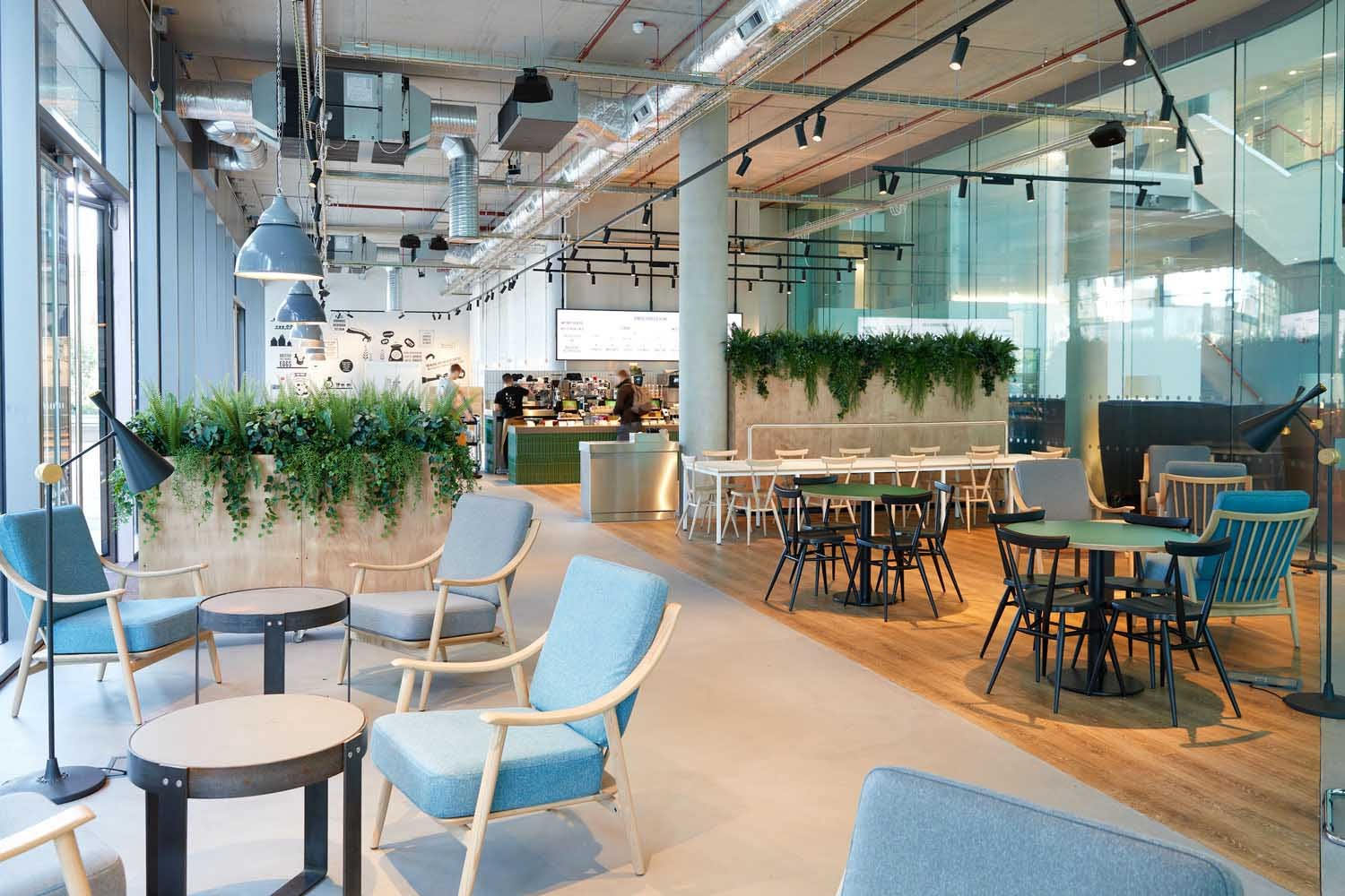 Thiết kế Co-working cafe