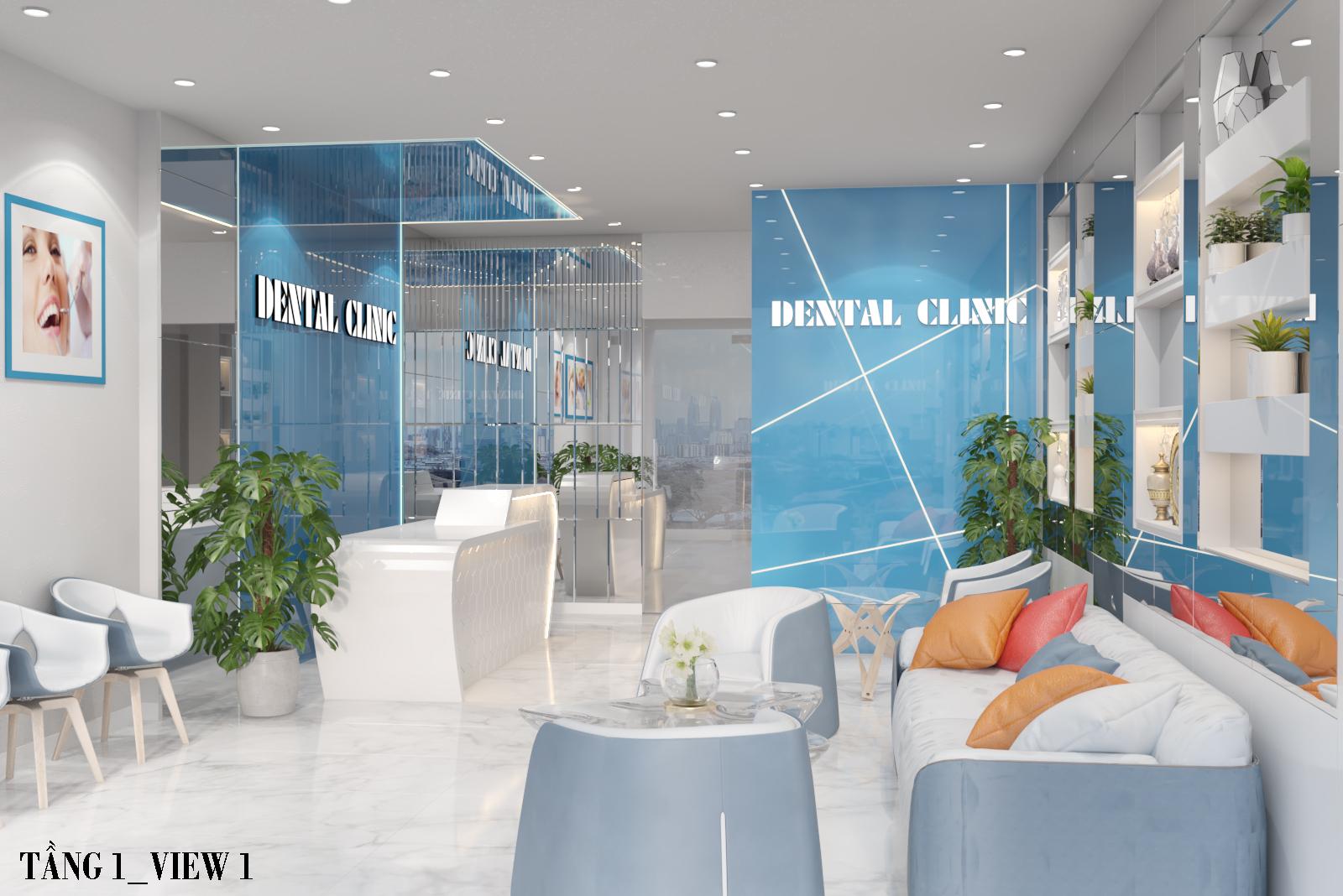 Mẫu thiết kế phòng khám nha khoa đẹp, độc đáo 2020