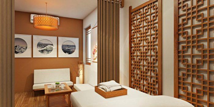 Thiết kế spa theo phong cách Zen của Nhật Bản