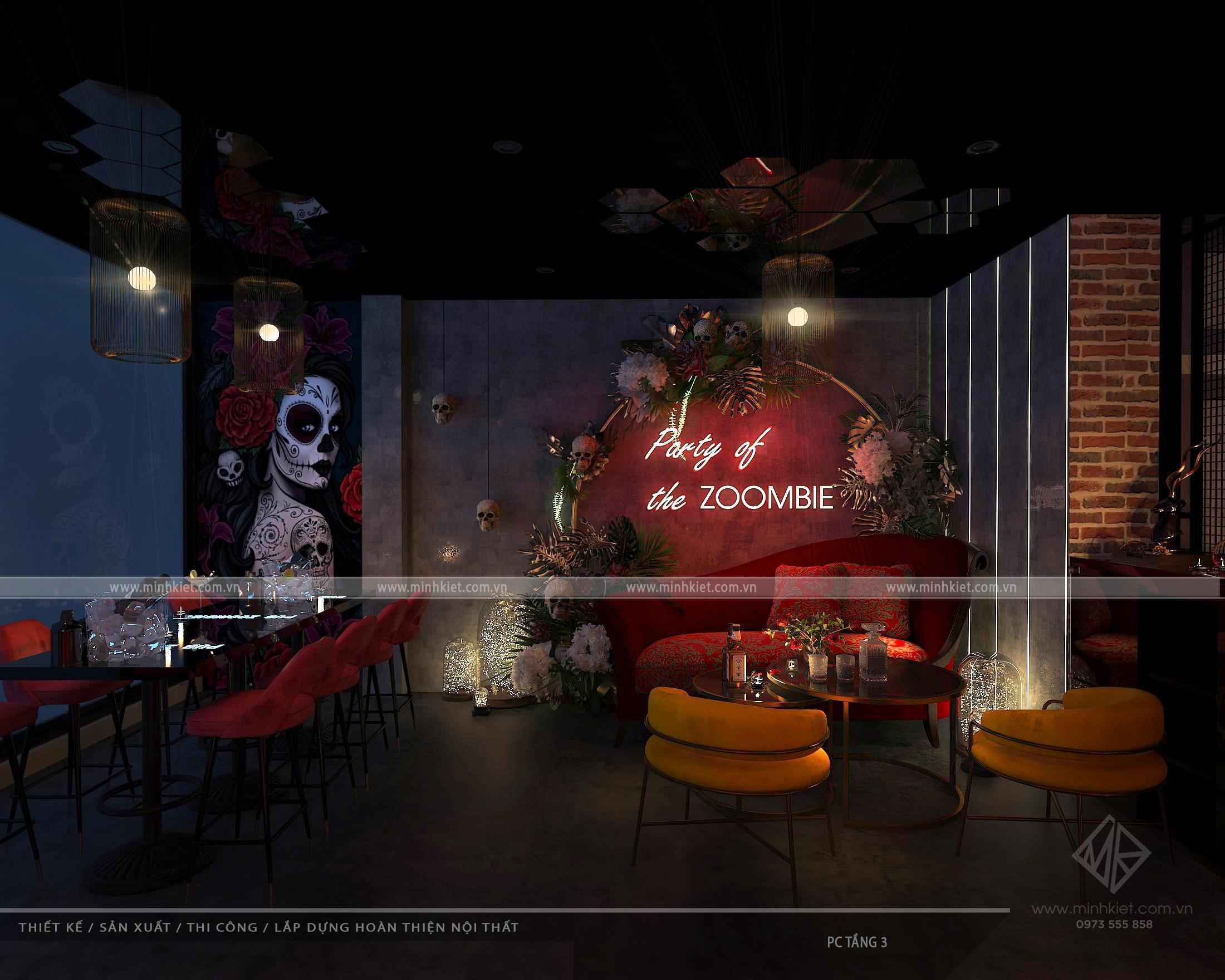 Thiết kế Pub Zombie 2