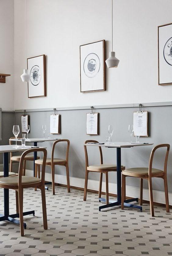 Thiết kế quán cafe mặt tiền 6m đẹp cực hút khách - Mẫu thiết kế quán cafe đẹp