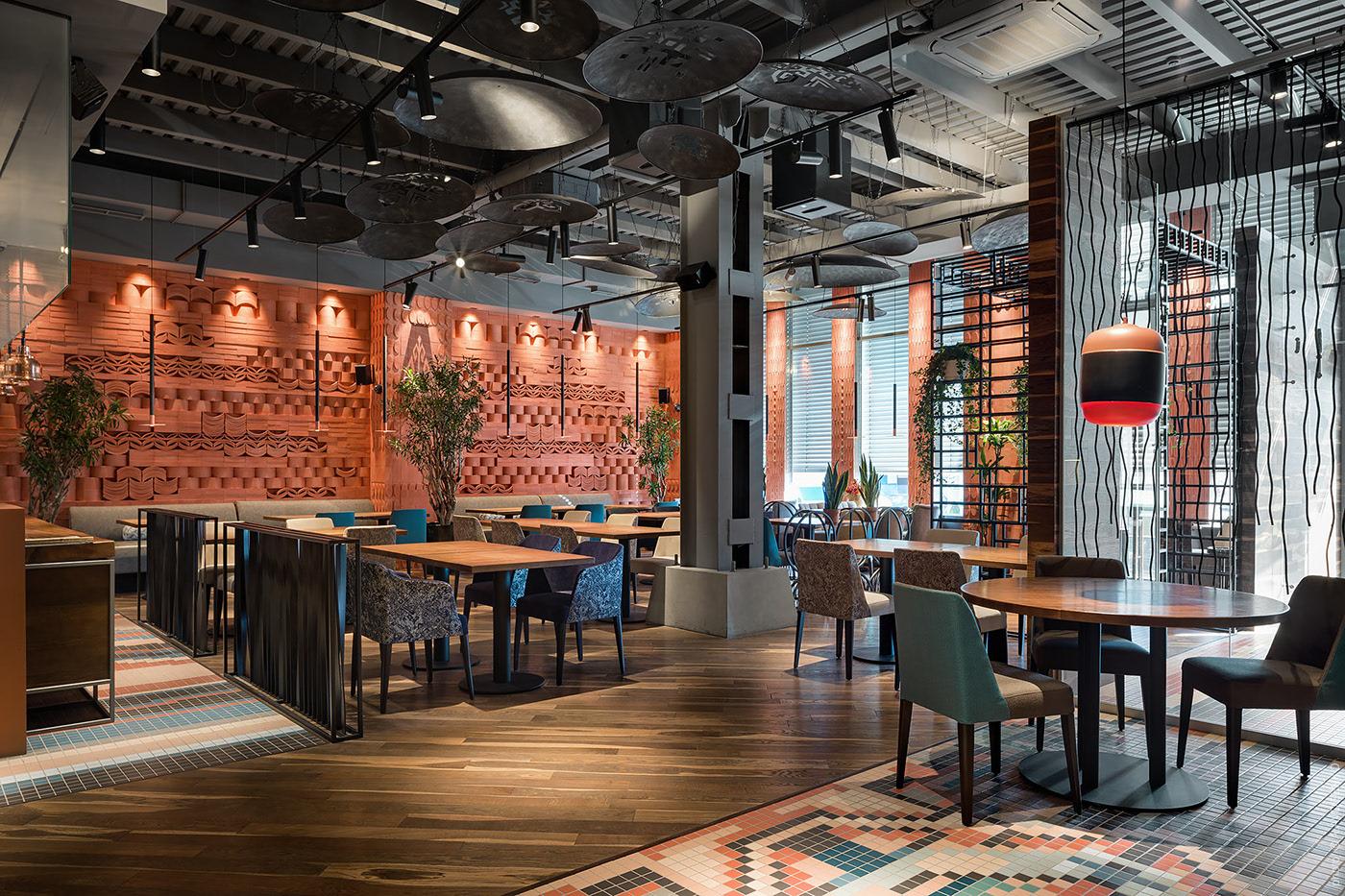 Thiết kế khu vực quầy Bar nhà hàng đẹp