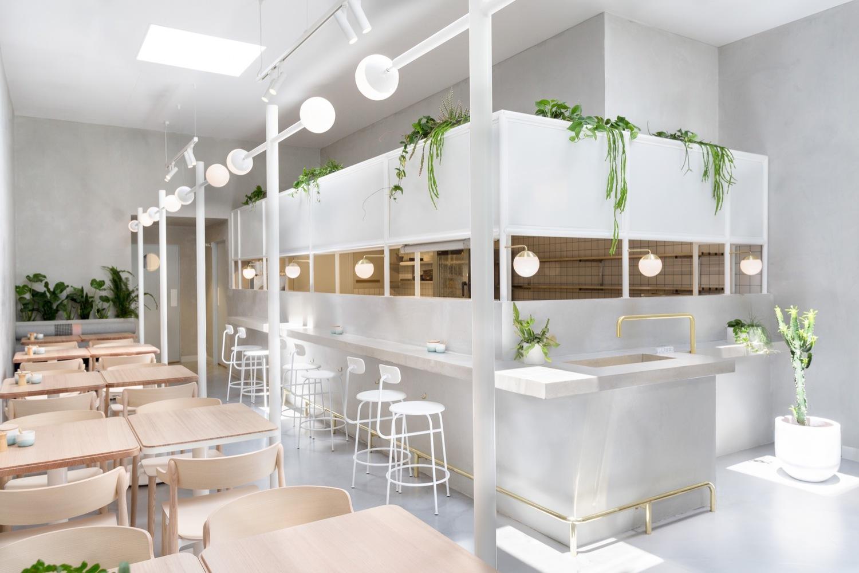 Mẫu quán cafe đơn giản nhưng ấn tượng