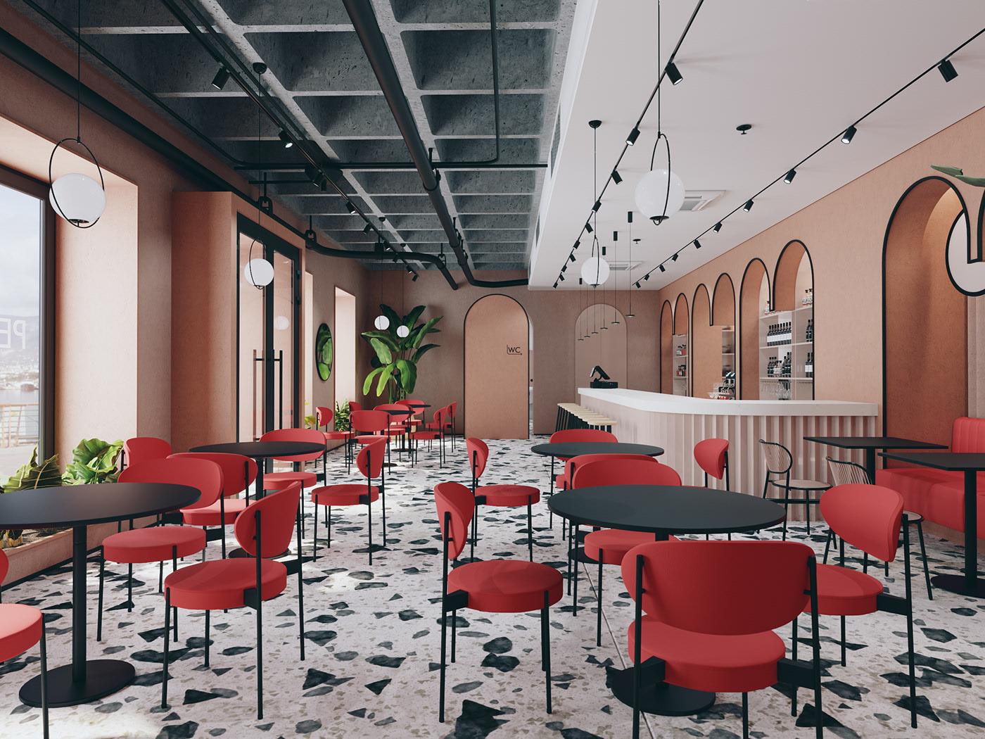 Thiết kế trang trí nội thất quán cafe sang trọng lịch sự