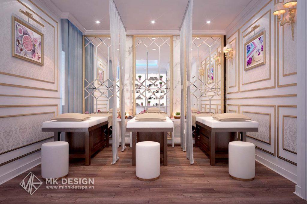 Thiết kế nội thất phòng Spa đẹp